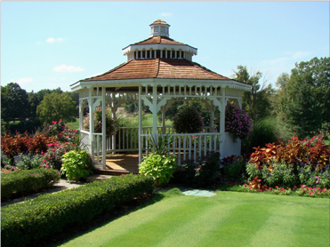 Gazebo at the clubhouse